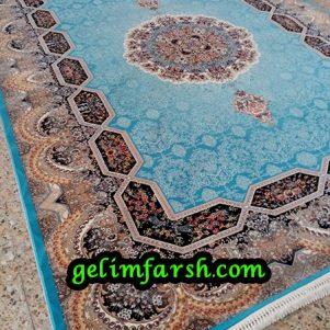قیمت فرش 12 متری 700 شانه هالیدی آبی