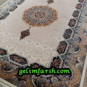 قیمت فرش 12 متری 700 شانه هالیدی کرم