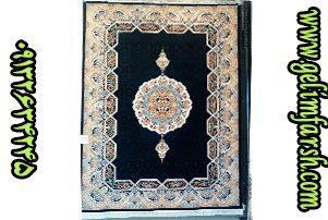 قیمت فرش ماشینی 700 شانه ده رنگ هالیدی سرمه ای