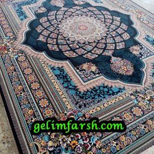 قیمت فرش 12 متری 700 شانه لوکس سرمه ای