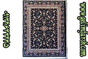 قیمت فرش ماشینی 700 شانه طرح حلما سرمه ای