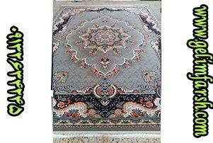فرش ماشینی 700 شانه طرح نیلی فیلی 10 رنگ