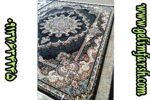 قیمت فرش 12 متری 700 شانه نیلی سرمه ای