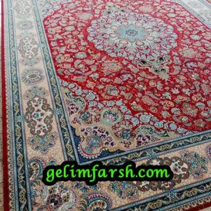 قیمت فرش ماشینی 1000 شانه طرح استانبول لاکی