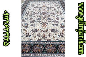 قیمت فرش ماشینی 1000 شانه طرح قاب بهشت کرم
