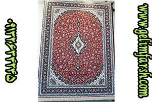 قیمت فرش ماشینی 1000 شانه طرح کاشان لاکی