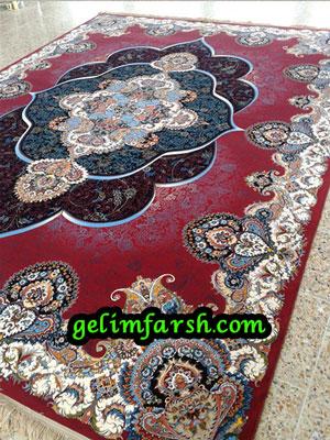 قیمت فرش ماشینی 1000 شانه طرح پانیذ روناسی