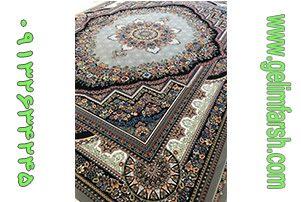 فرش ماشینی کاشان طرح بهشت فیلی
