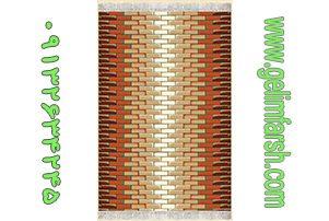 گلیم فرش طرح اجری کد 147