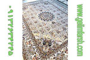 فرش گل برجسته گلسا فیلی 700 شانه