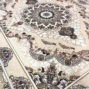 فرش گل برجسته صنم فیلی 700 شانه