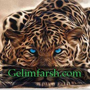 تابلو فرش ماشینی حیوان کد 120
