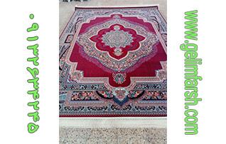 فرش طرح باغ معلق لاکی ۷۰۰ شانه کاشان