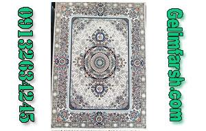 فرش ماشینی آلیس نقره ای